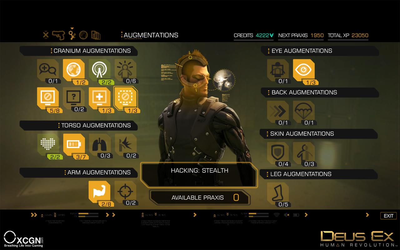 Читы Deus Ex Human Revolution