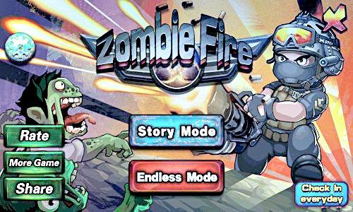 Zombie fire - читы на золото, кристаллы, жизни и оружие